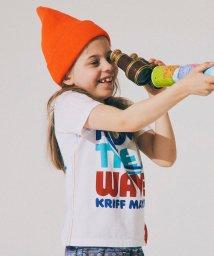 KRIFF MAYER(Kids)/デカロゴT(SUP)(140〜160cm)/500287207