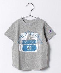 XLARGE KIDS/CHAMPION アスレチックOG クルーネック半袖スウェット/500297836