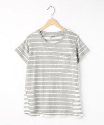 coen/スラブボーダーTシャツ/500301076