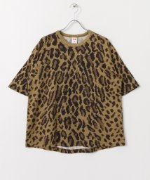 URBAN RESEARCH Sonny Label/VOTE MAKE NEW CLOTHES 3D LEOPARD BIG T-SHIRTS/500304261