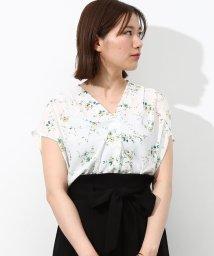 ViS/★ヒルナンデス!放映★フラワープリントスキッパーシャツ/500297601