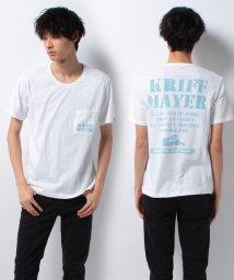 KRIFF MAYER/ブランドロゴ半袖ポケTEE/500287186