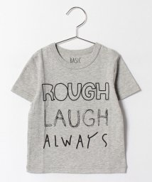b-ROOM/4ロゴ半袖Tシャツ/500297685