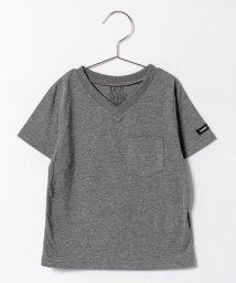 b-ROOM/VネックPK Tシャツ/500297693