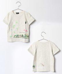 kladskap/トロピカルZOOトレイン半袖Tシャツ/500297713
