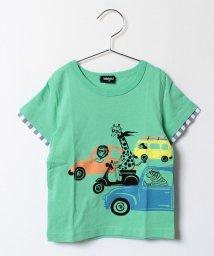 kladskap/zooカーレースプリント半袖Tシャツ/500297714