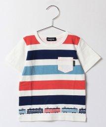 kladskap/ob電車ボーダープリント半袖Tシャツ/500297717