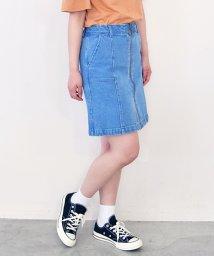 Ray Cassin /リングジップ台形スカート/500308367