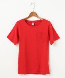 DOUBLE NAME/テレコポケット付きTシャツ/500308391