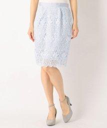 MISCH MASCH/【美人百花5月号掲載】花柄レースタイトスカート/500112858