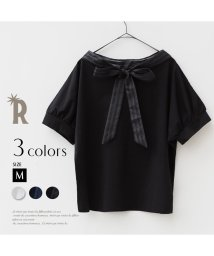 REAL CUBE/【Cu】 Made in Japan バックリボンカットソー/500243146