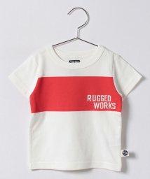 RUGGEDWORKS/胸ライン半袖TEE/500300484
