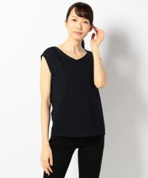 ICB(LARGE SIZE)/【セットアップ可 / 洗える】Layered Twist Jersey カットソ/500312303