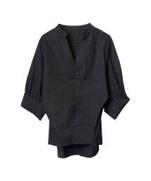 Re:EDIT/袖折り返しバックボタンシャツ/500307181