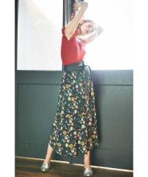 PROPORTION BODY DRESSING/《BLANCHIC》ヴィンテージプリントスカート/500313069