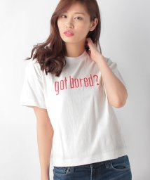 AZUL by moussy/GOT BORED LOGO TEE/500281970