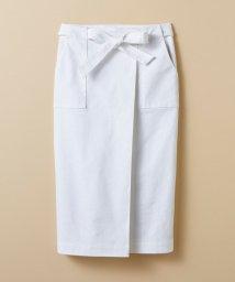haco!/【mer8月号掲載】パッと着るだけで女らしくてかっこいい ラップ風スカート by que made me/500286405