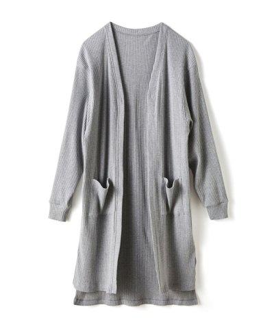 ひとクセ袖の上にも着れる!UVカット&吸水速乾素材のドルマン風カーディガン