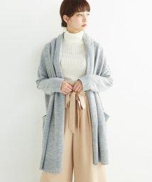 haco!/ぱっと羽織るのに便利な大人かわいいニットガウンコート/500300264