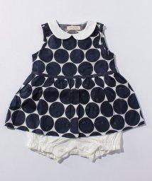 SENSE OF WONDER/透かしドットスカート付ショートオール/500305951