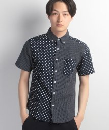 JNSJNM/【NAIVE MAGIC】オックスドットギミックシャツ/500279044