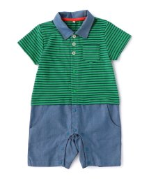 green label relaxing (Kids)/ボーダーポロシャツ×パンツ T−ALL/500301059