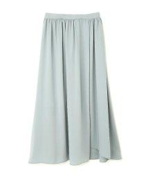 PROPORTION BODY DRESSING/《BLANCHIC》ノッチネックラッフルスカート/500315440