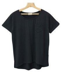 and Me.../Tシャツ レディース 半袖 カットソー UVカット Uネック クール素材 ゆるてろ トップス/500315841