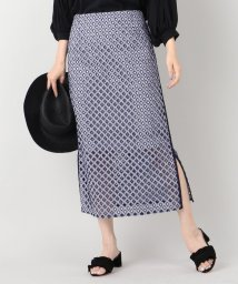 IENA/ギンガムレース台形スカート/500316388