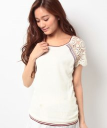 Desigual/JERS_LACE SLEEVE T SHIR/500044590