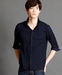 NICOLE CLUB FOR MEN/7分袖カットシャツ/500297497