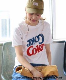 coen/USAコットンカラーロゴCoca−Cola Tシャツ/500301077