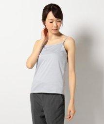 NIJYUSANKU/【洗える】スビンコットン キャミソール/500316744