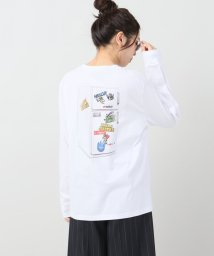 JOURNAL STANDARD/【AshLey WILLIAMS】 LOGO FRIDGE LONG SLEEVE:Tシャツ/500318294