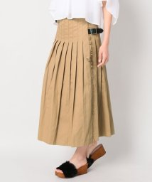 JOURNAL STANDARD relume/【O'NEIL OF DUBRIN/オニール・オブ・ダブリン】 LOW WAIST PLEATS:ラップスカート/500318644
