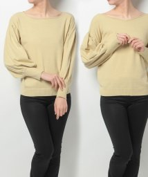 NICE CLAUP OUTLET/【natural couture】前後2WAYバルーンニット/500302488