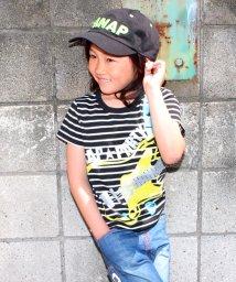 ANAP KIDS/ベースプリントボーダーTシャツ/500309335