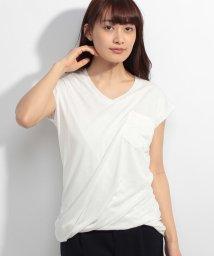 Bou Jeloud/裾ツイストポケットTシャツ/500311878