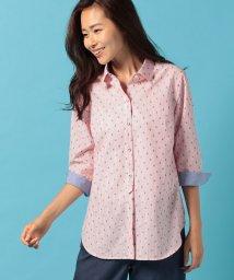 CARA O CRUZ/【CANCLINI】イカリのジャカード刺繍シャツ/500316311