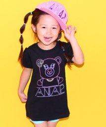 ANAP KIDS/ネオンリップちゃんパフスリ  ワンピース/500311503