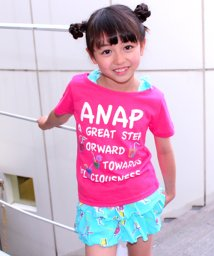 ANAP KIDS/ジュース柄トップス+フリルスカパン SET UP/500311504