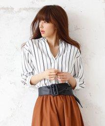 INGNI/7分袖トロミスキッパー/シャツ/500313218