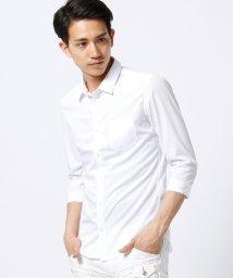 HIDEAWAYS NICOLE/七分丈ブロードシャツ/500320656
