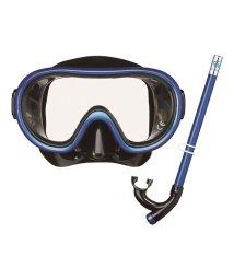 VIEW/ビュー/キッズ/4~9歳子供向けお手頃価格のマスク・スノーケル2点セット/500321373