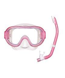 VIEW/ビュー/キッズ/高品質なシリコーン素材を採用したお子様向けの高機能マスク・スノーケル2点セット/500321375