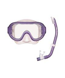 VIEW/ビュー/キッズ/高品質なシリコーン素材を採用したお子様向けの高機能マスク・スノーケル2点セット/500321376