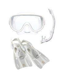 VIEW/ビュー/高機能を全てに集約したシリコーン製のマスク・スノーケル・フィン3点セット/500321382