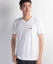 JNSJNM/【CHAMPION】ワンポイントメッシュVネックTシャツ/500302508