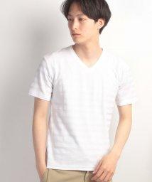 JNSJNM/【NYLAUS】ジャガードTシャツ/500302534