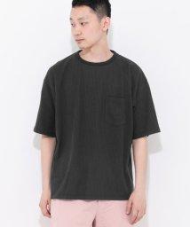 SENSE OF PLACE/シアサッカーポケTシャツ(半袖)/500323175